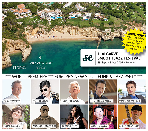 ALGARVE SMOOTH JAZZ FESTIVAL 2016