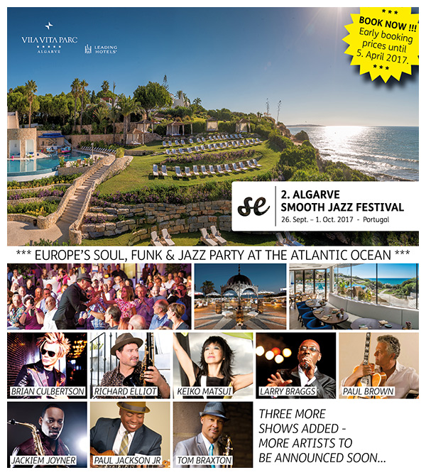 2nd ALGARVE SMOOTH JAZZ FESTIVAL 2017