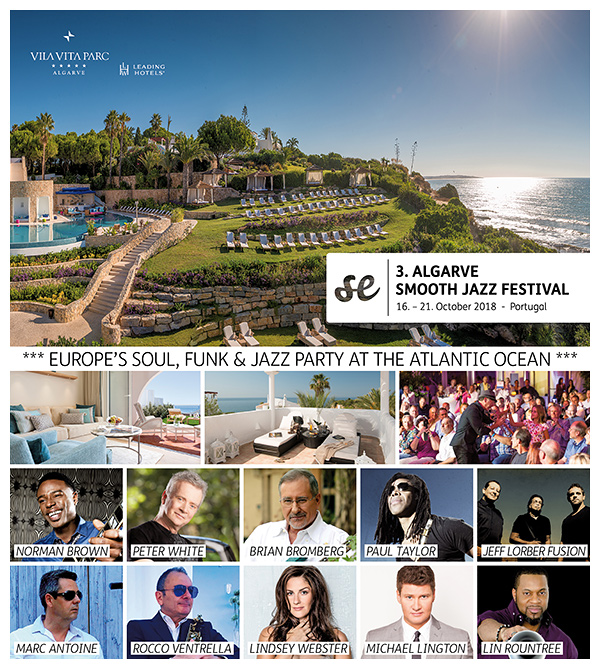 3rd ALGARVE SMOOTH JAZZ FESTIVAL 2018