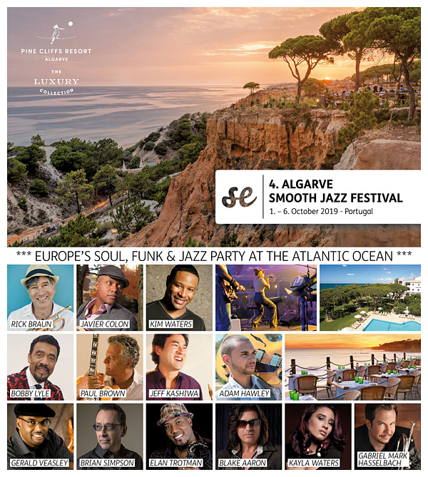 4th ALGARVE SMOOTH JAZZ FESTIVAL 2019