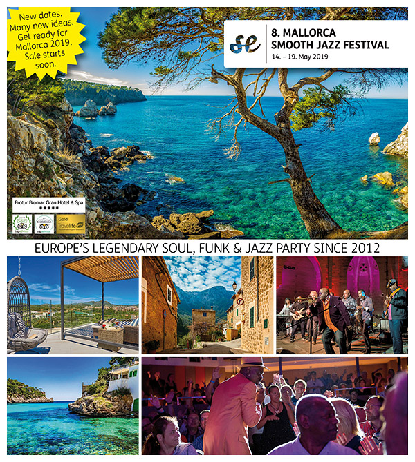 8th MALLORCA SMOOTH JAZZ FESTIVAL 2019
