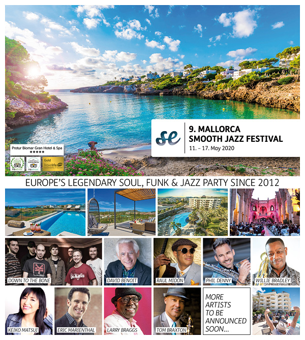 9th MALLORCA SMOOTH JAZZ FESTIVAL 2020
