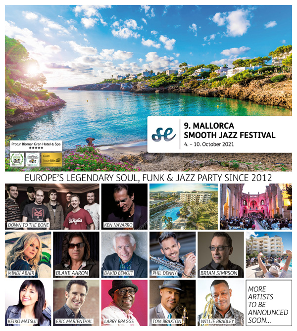 9th MALLORCA SMOOTH JAZZ FESTIVAL 2021