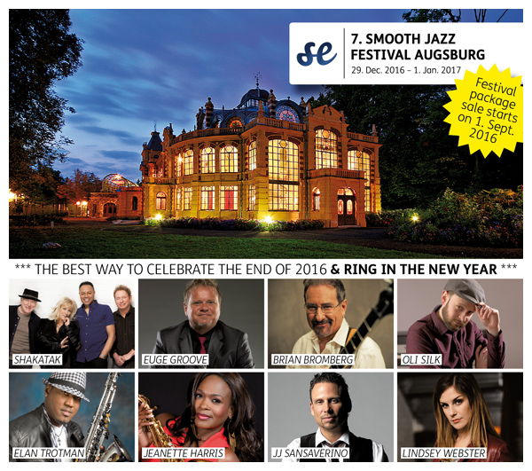 SMOOTH JAZZ FESTIVAL AUGSBURG 2016